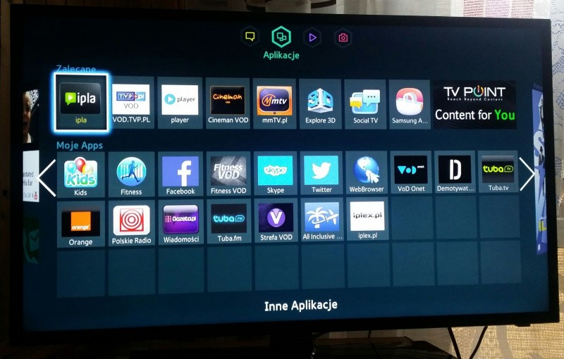Samsung Smart TV UE39F5300 - SmartHub