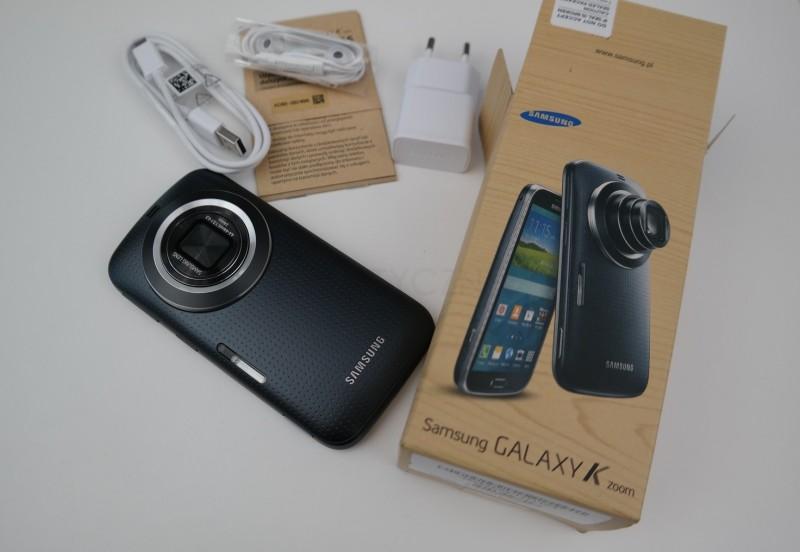 Galaxy K Zoom - zawartość zestawu