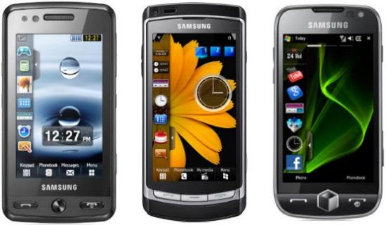 Smartfony Samsung Omnia