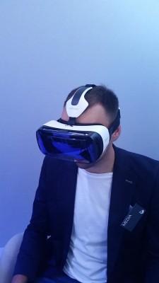Ja w Gear VR na IFA 2014 w Berlinie