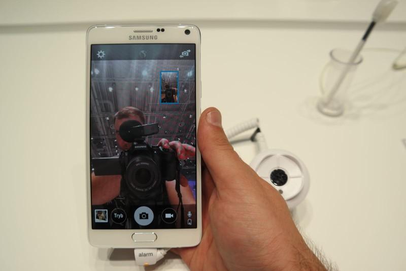 Wide Selfie w Galaxy Note 4