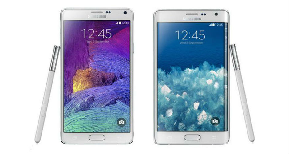 Samsung Galaxy Note 4 i Galaxy Note Edge