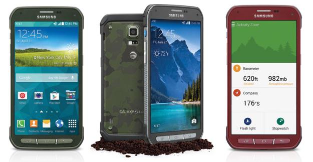 Samsung Galaxy S5 Active / fot. brg.com