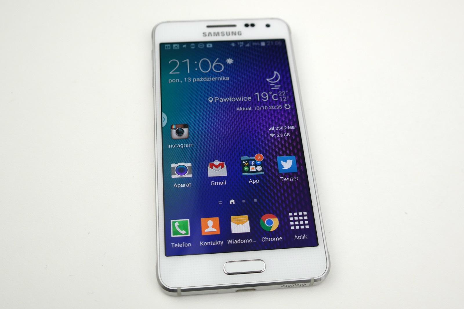 Samsung Galaxy Alpha / fot. galaktyczny.pl