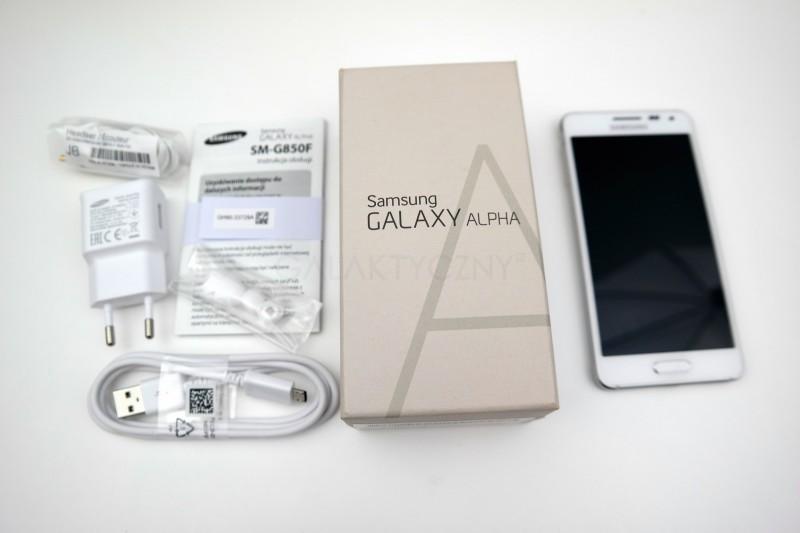 Samsung Galaxy Alpha - zestaw