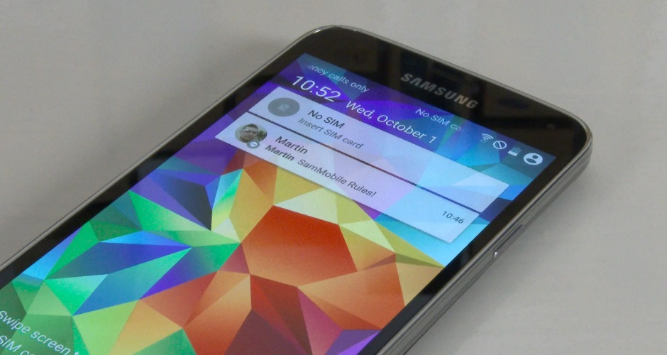 Android L na Galaxy S5