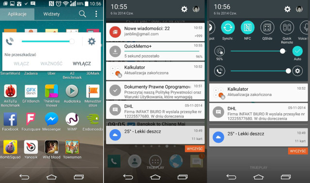 Android 5.0 Lollipop na LG G3