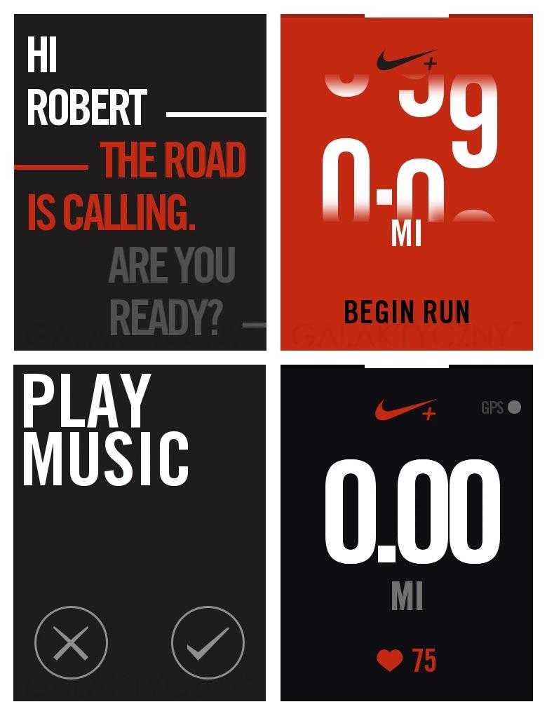 Samsung Gear S - Nike+ Running
