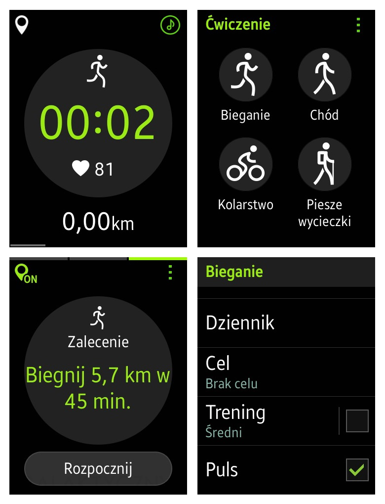 Samsung Gear S - S Health