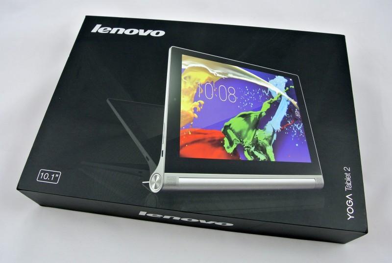 Lenovo Yoga Tablet 2 - pudełko / fot. galaktyczny