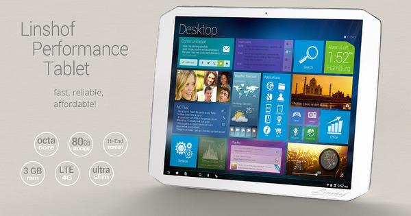 Linshof Performance Tablet