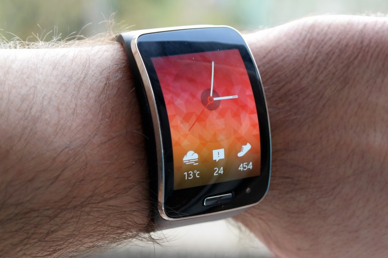 Samsung Gear S - ekran
