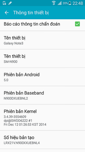 Lollipop dla Galaxy Note 3 / fot. SamsungViet