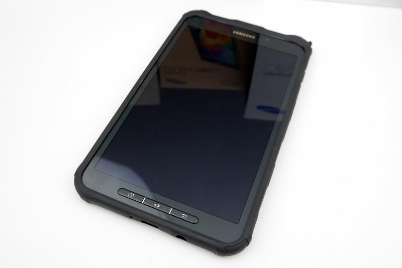Samsung Galaxy Tab Active - przód / fot. galaktyczny.pl