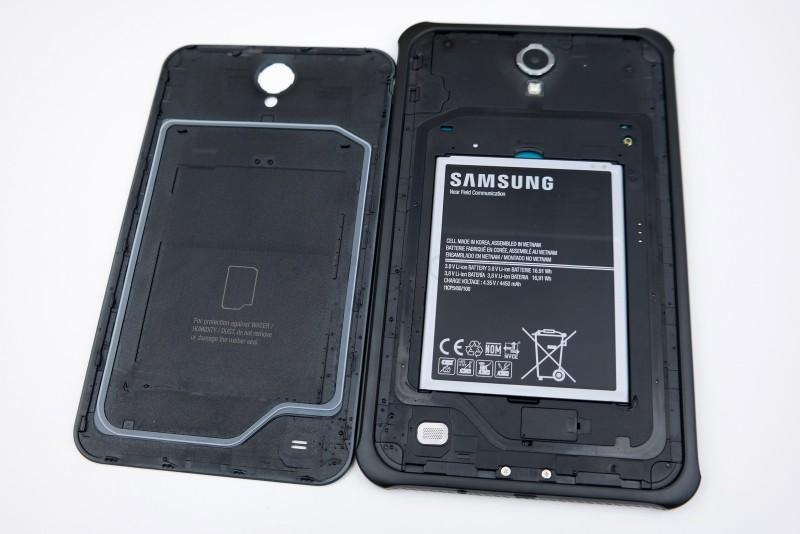 Samsung Galaxy Tab Active  - bateria / fot. galaktyczny.pl