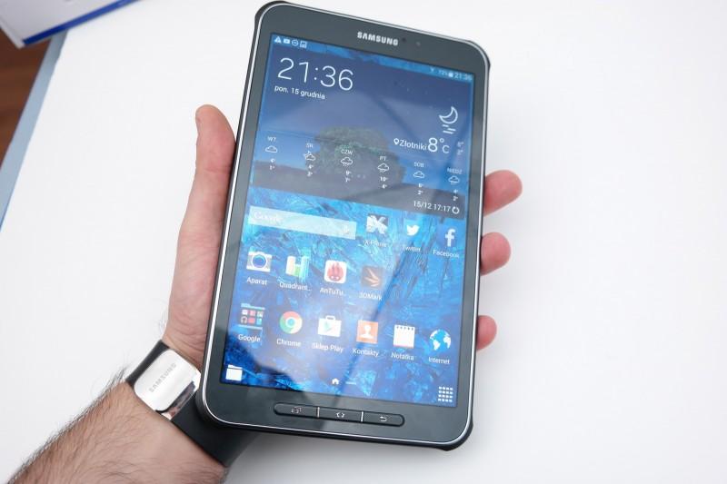 Samsung Galaxy Tab Active  - ekran / fot. galaktyczny.pl