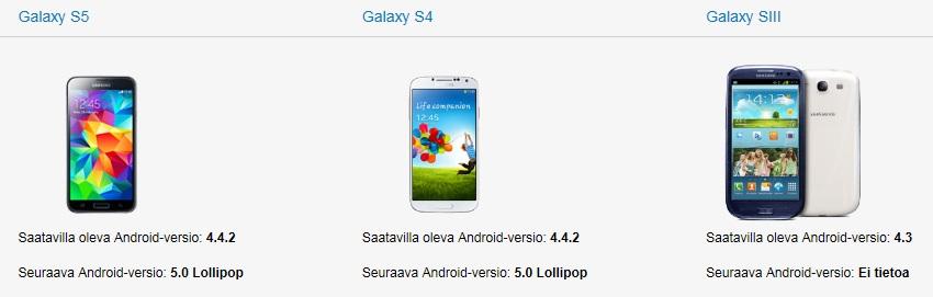 Lollipop dla smartfonów Samsung / fot. Samsung