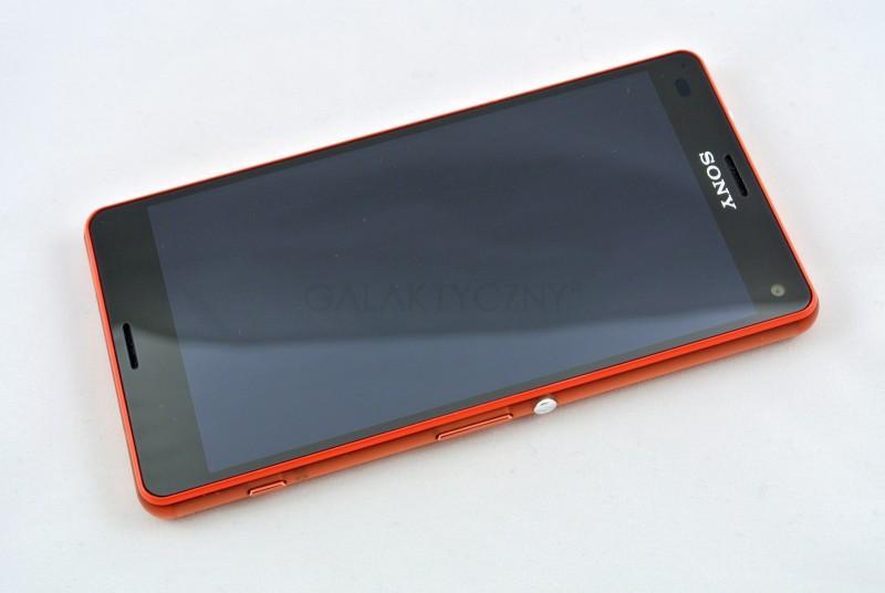 Sony Xperia Z3 Compact - ekran / fot. galaktyczny.pl