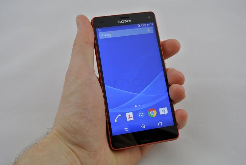 Sony Xperia Z3 Compact / fot. galaktyczny.pl