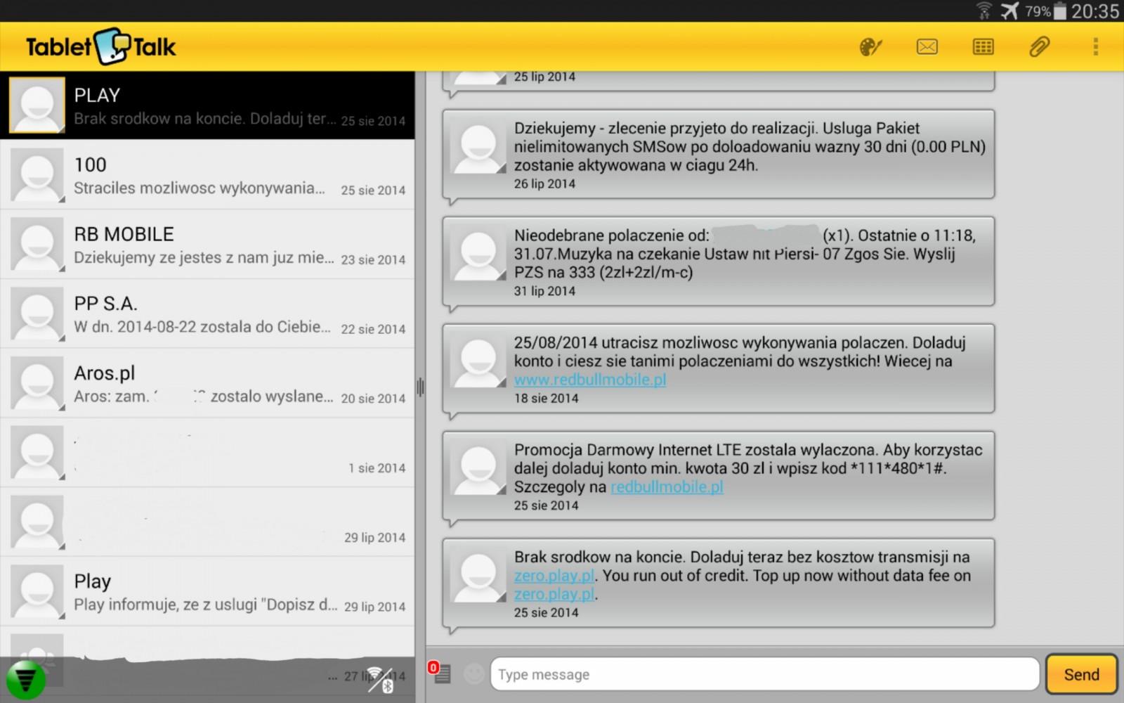 Tablet Talk - Klient / fot. galaktyczny.pl
