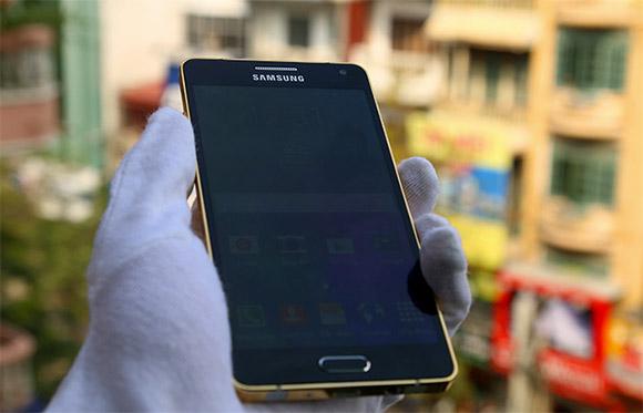 Złoty Samsung Galaxy A5