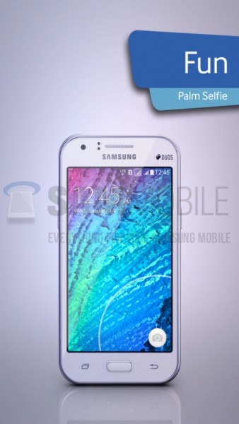 Samsung Galaxy J1 / fot. SamMobile