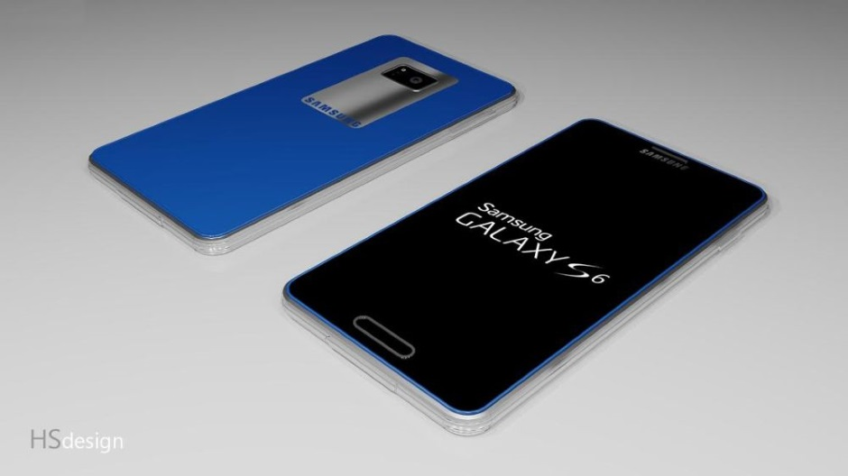 Render Galaxy S6 / fot. HSdesign