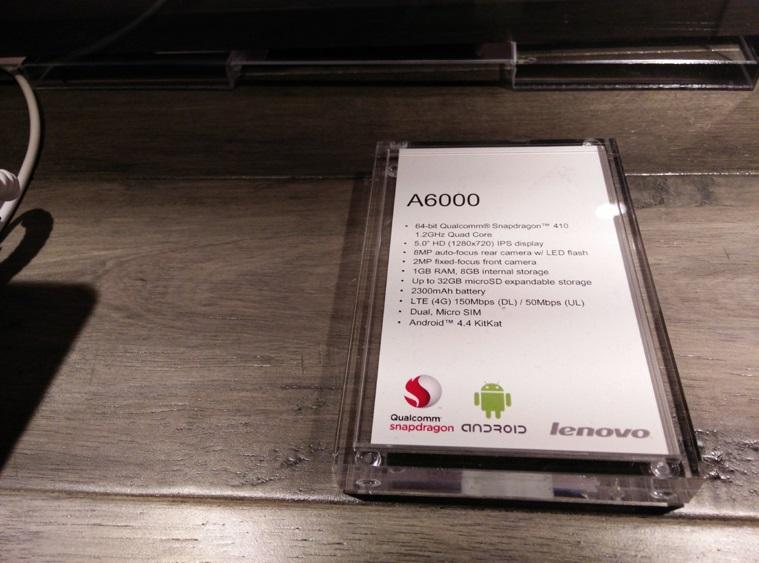 Lenovo A6000 - specyfikacja / fot. IndianExpress