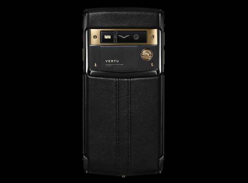 Vertu Pure Jest Red Gold