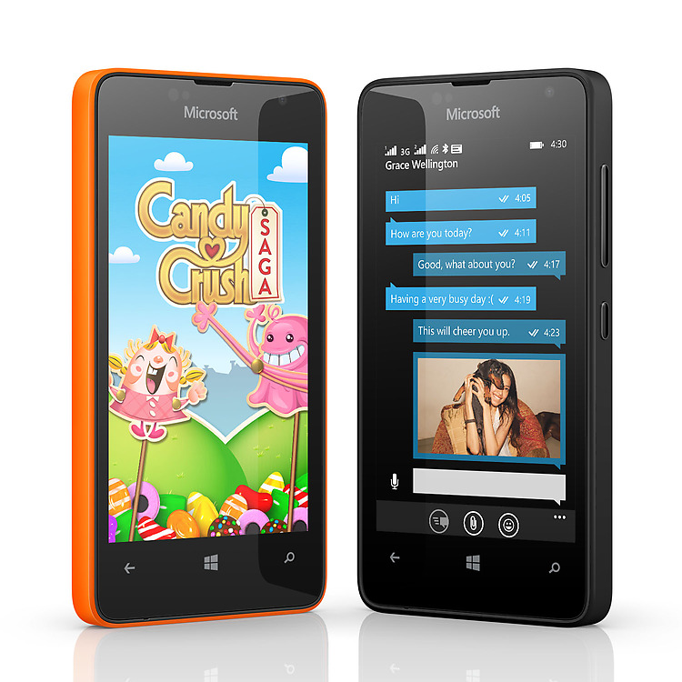 Microsoft Lumia 430 / fot. Microsoft