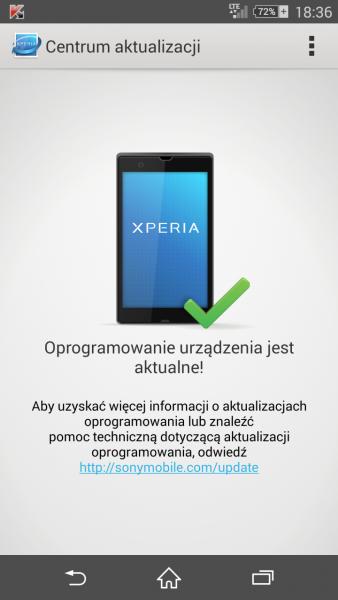 Aplikacja Centrum Aktualizacji / fot: galaktyczny.pl