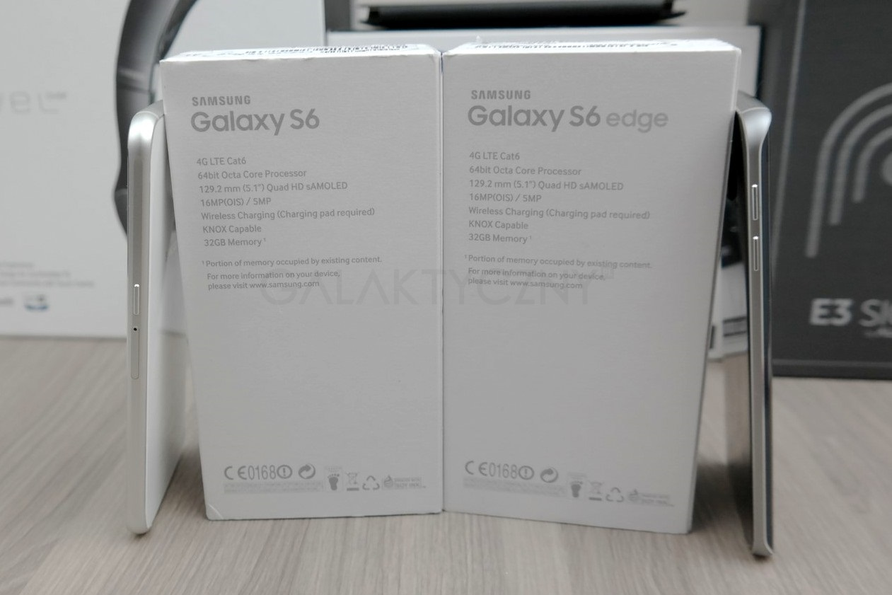 Galaxy S6 i Galaxy S6 Edge - specyfikacja / fot. galaktyczny.pl