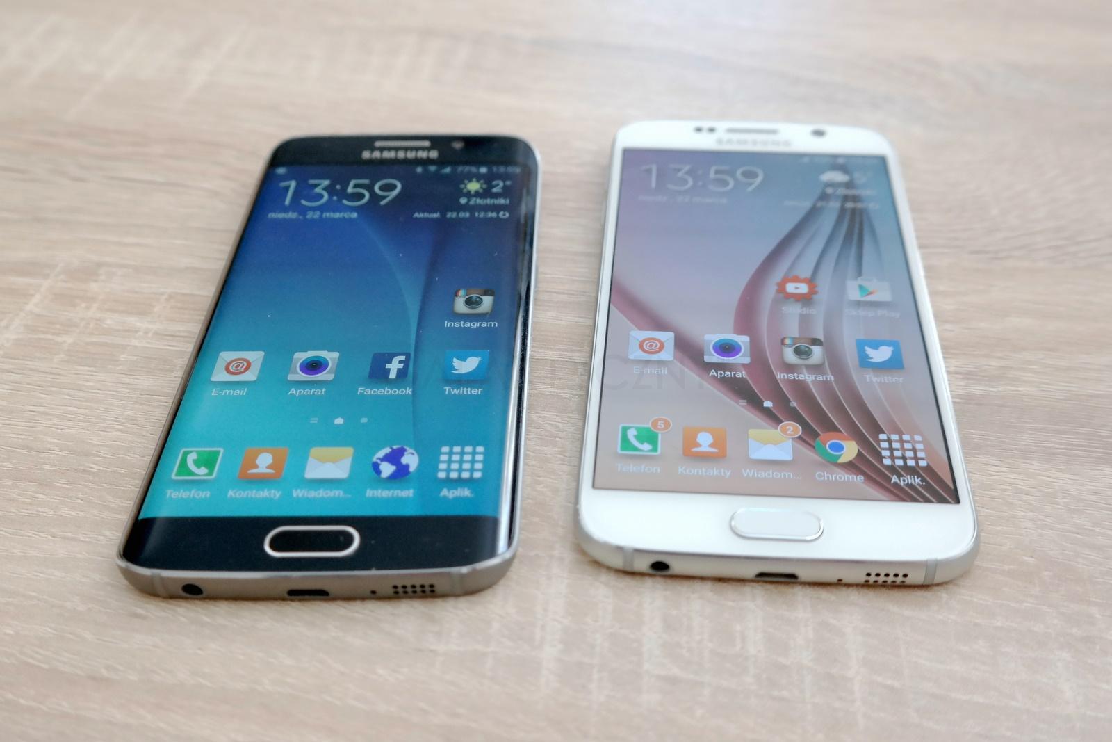 Galaxy S6 i Galaxy S6 Edge / fot. galaktyczny.pl