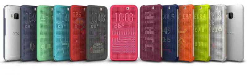 HTC One M9 Dot View / źródło: HTC