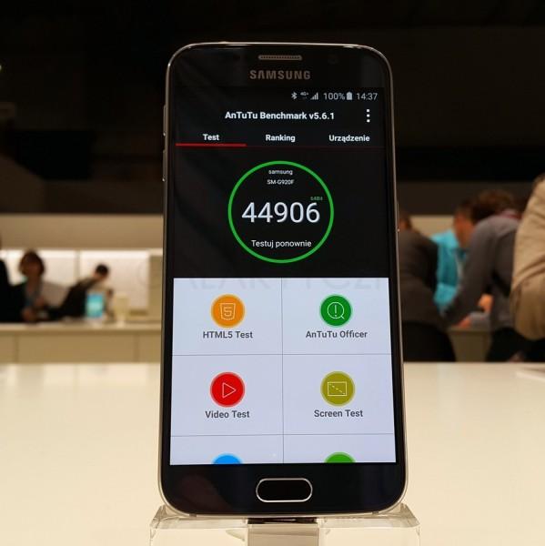 AnTuTu - Galaxy S6 / fot. galaktyczny.pl