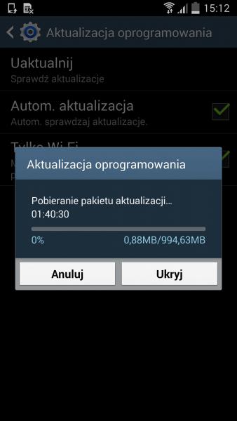 Lollipop dla Galaxy S4 LTE / fot. galaktyczny.pl