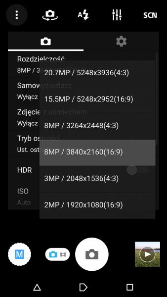 Sony Xperia Z3 - Rozdzielczość / fot. galaktyczny.pl