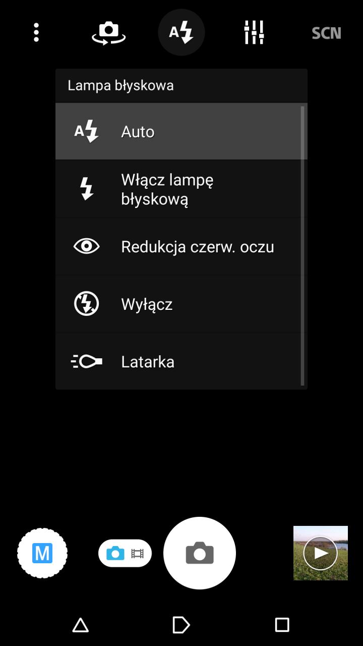 Sony Xperia Z3 - lampa błyskowa / fot. galaktyczny.pl