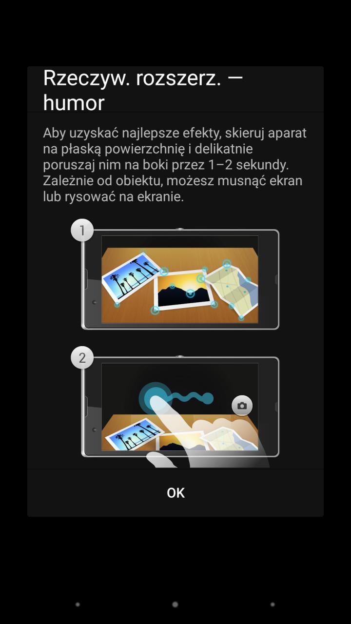 Sony Xperia Z3 - Rzeczywistość rozszerzona / fot. galaktyczny.pl