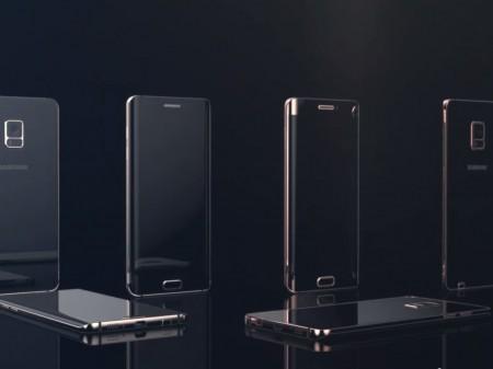 Samsung Galaxy Note 5 - render
