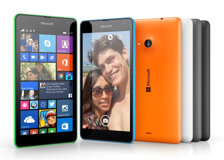 Microsoft Lumia 535 / fot. Microsoft