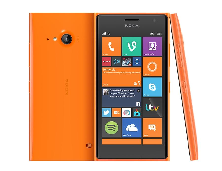 Nokia Lumia 735 / fot. Microsoft