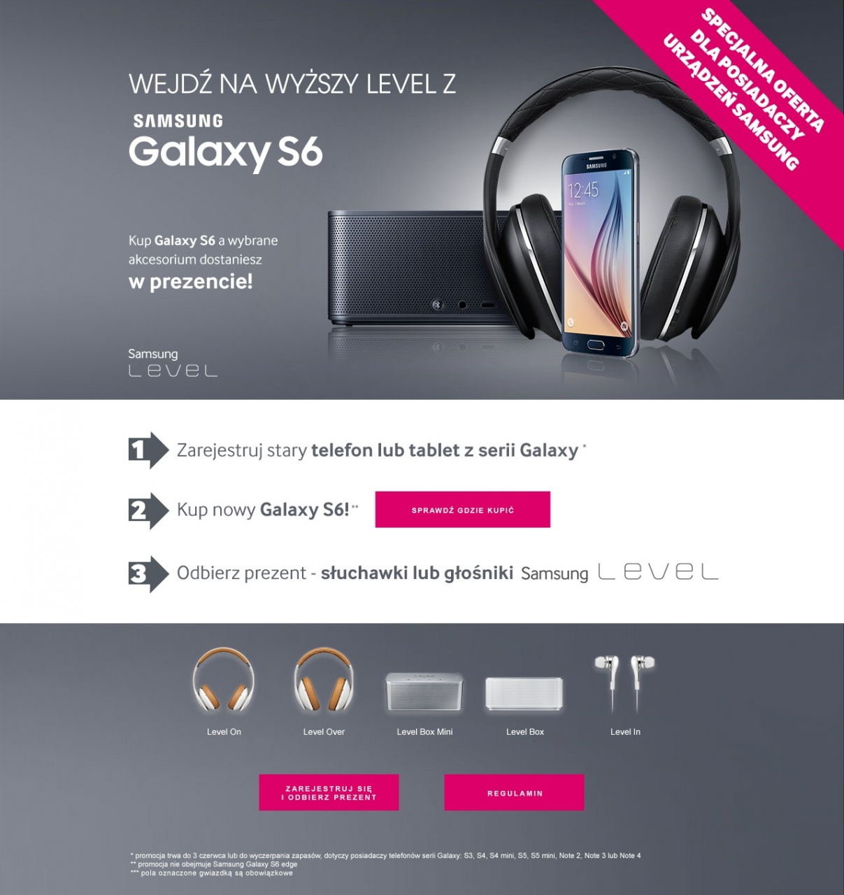 Promocja Galaxy S6 / fot. Samsung
