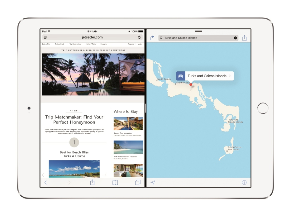 iPad Air 2 - Picture in Picture / fot. Apple
