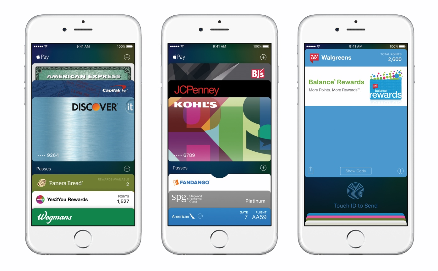 Apple Pay na iPhone 6 / fot. Apple