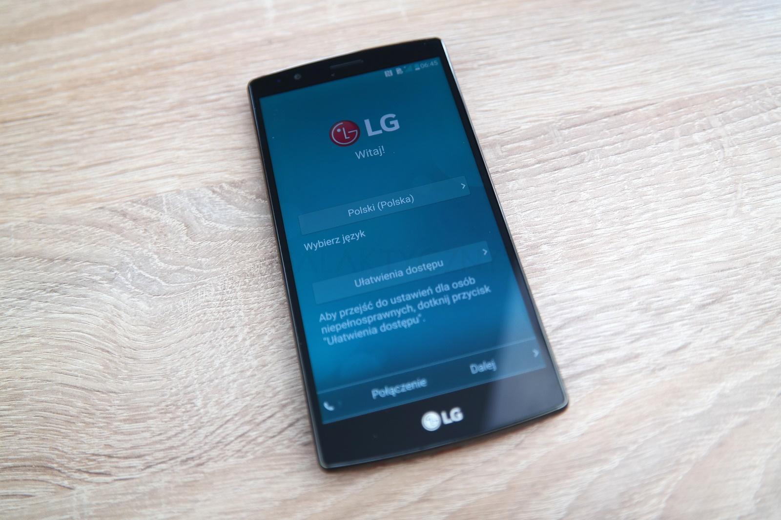 LG G4 - ekran / fot. galaktyczny.pl