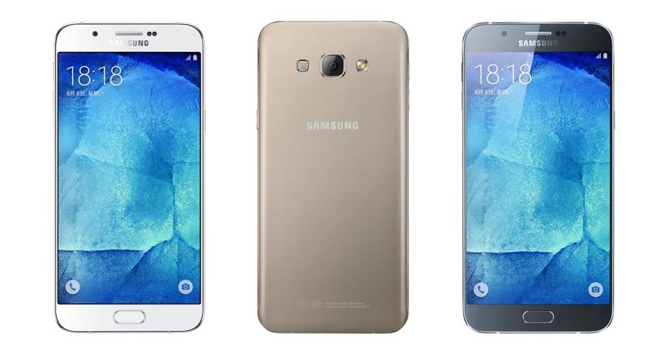 Samsung Galaxy A8 / fot. Samsung
