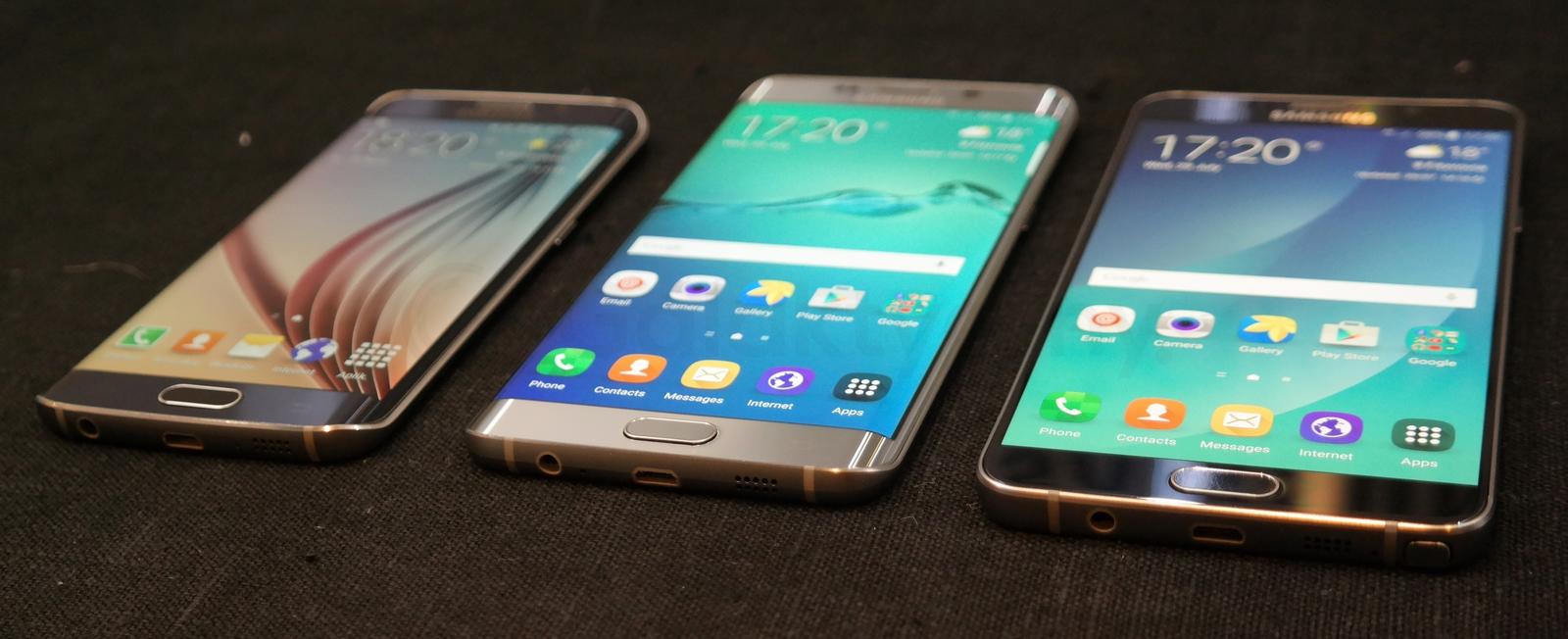 Galaxy S6 Edge, Galaxy S6 Edge Plus i Galaxy Note 5 / fot. galaktyczny.pl