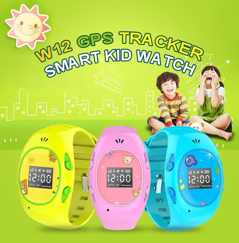 Smartwatch W12 Kids / fot. TinyDeal