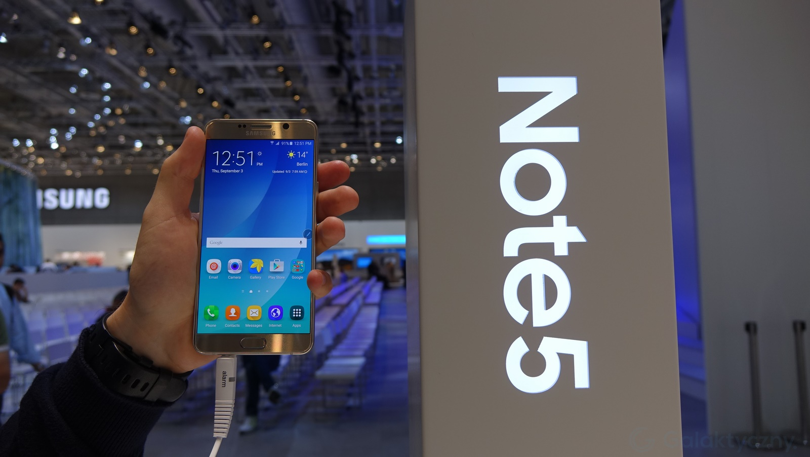 Galaxy Note 5 / fot. galaktyczny.pl